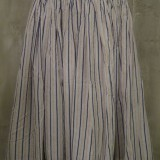 LADIES Seersucker Flared Skirt