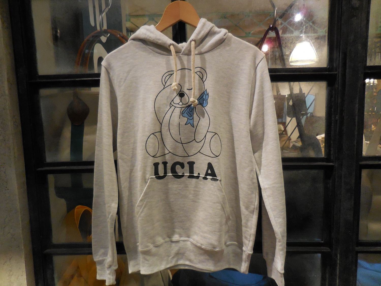 UCLA sweat parka