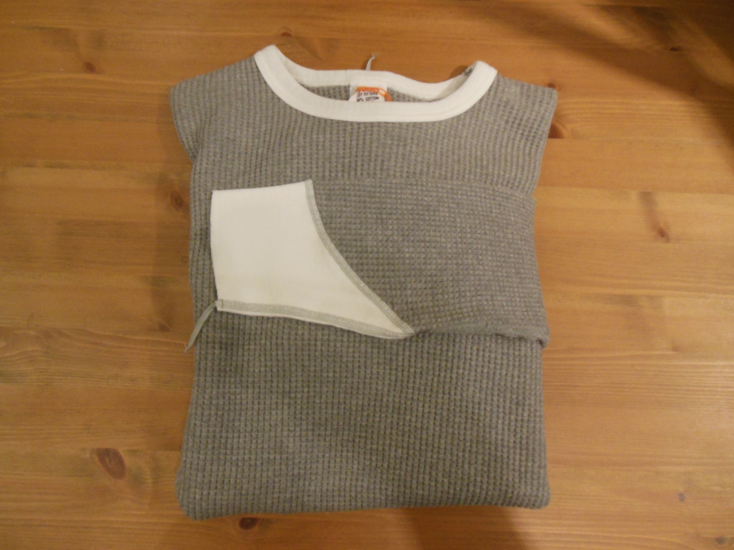 Barns outfitters VINTAGE WAFFLE CREW TEE