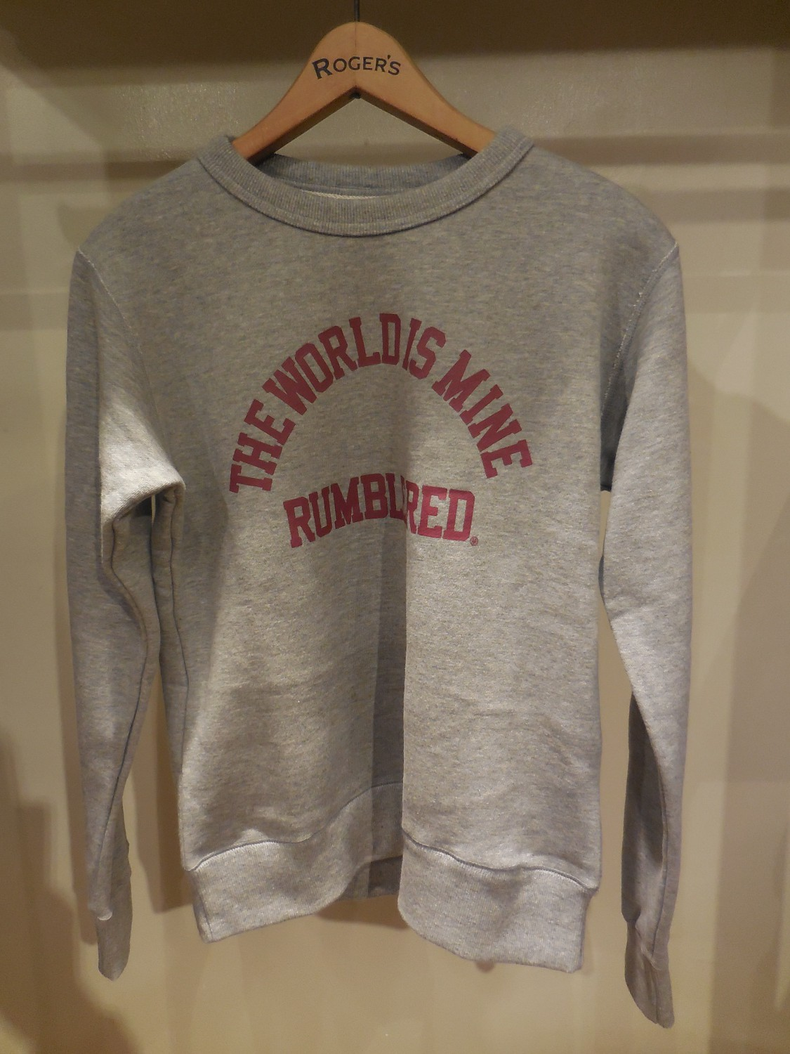RUMBLE RED /Message Sweat
