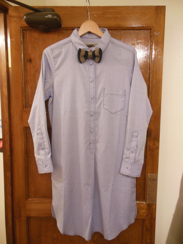 gru.rond / shirt one-piece+tie (set)