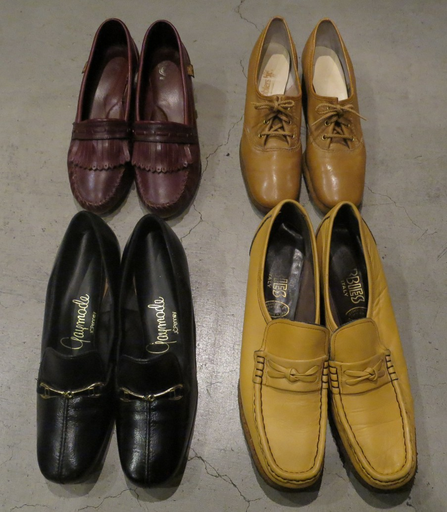 Ladies  Vintage  Retro Shoes (1960'S~1970'S)